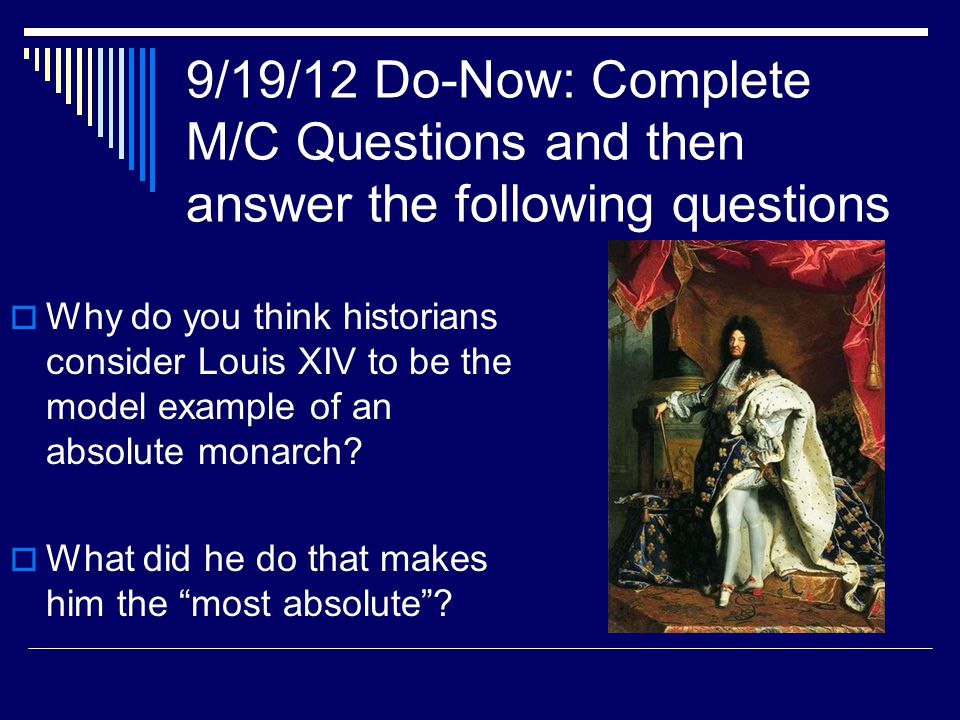 9/19/12 Do-Now: Complete M/C Questions and then answer the following questions