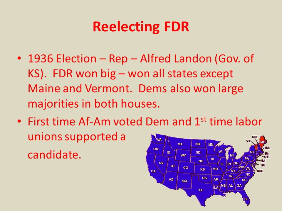 Reelecting FDR