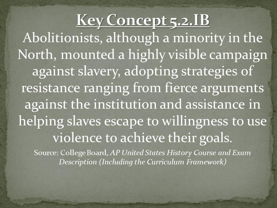 Key Concept 5.2.IB