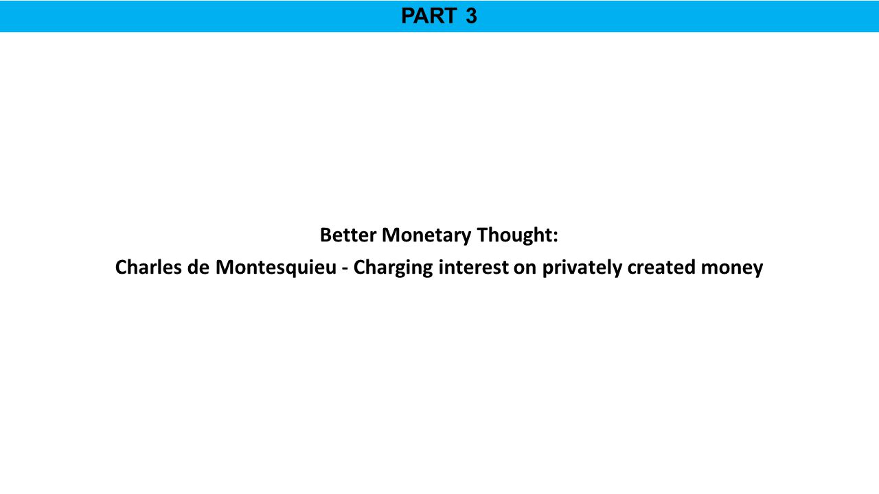 Better Monetary Thought: