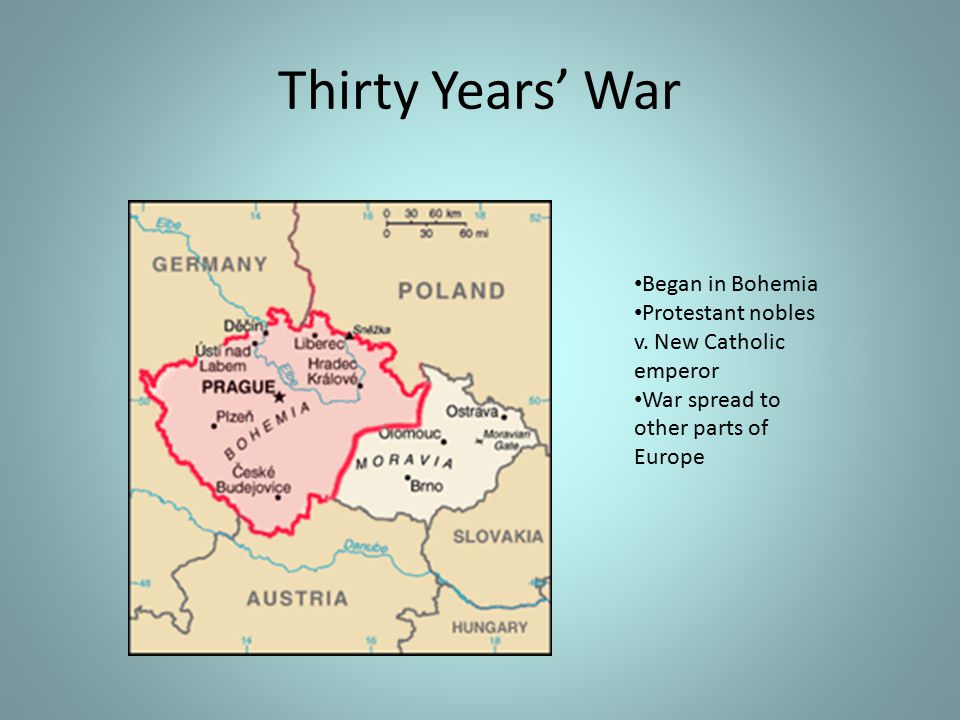 Thirty Years' War Began in Bohemia