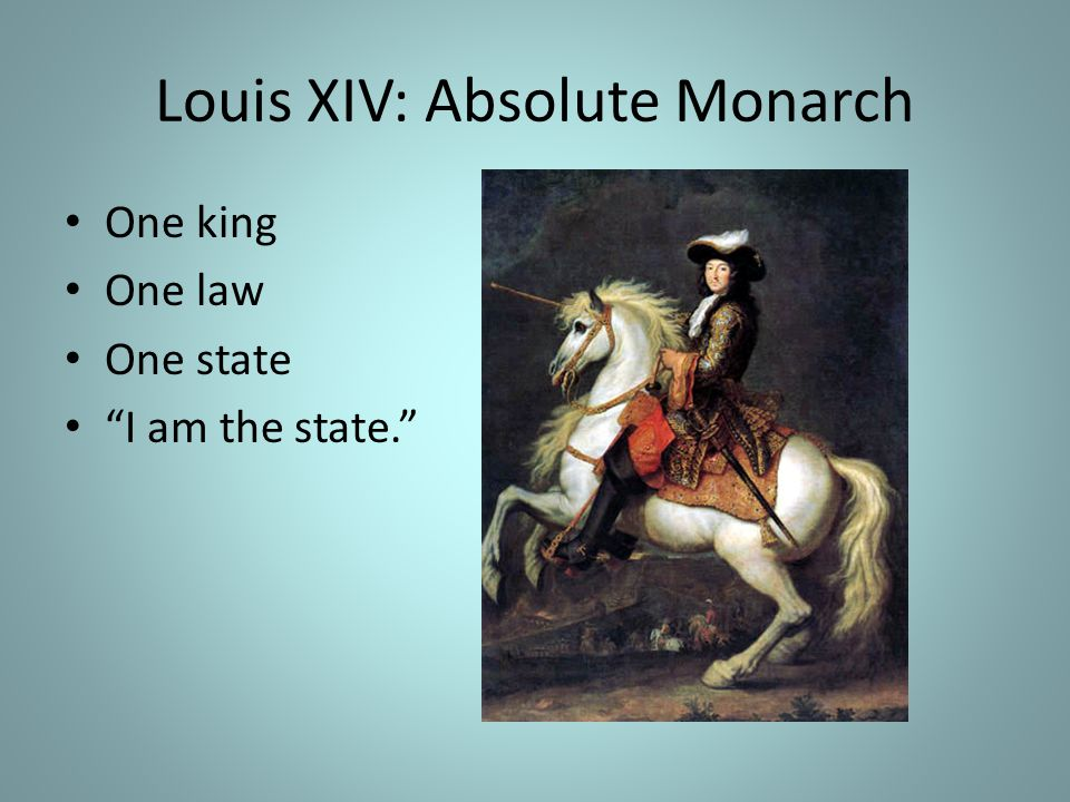 Louis XIV: Absolute Monarch