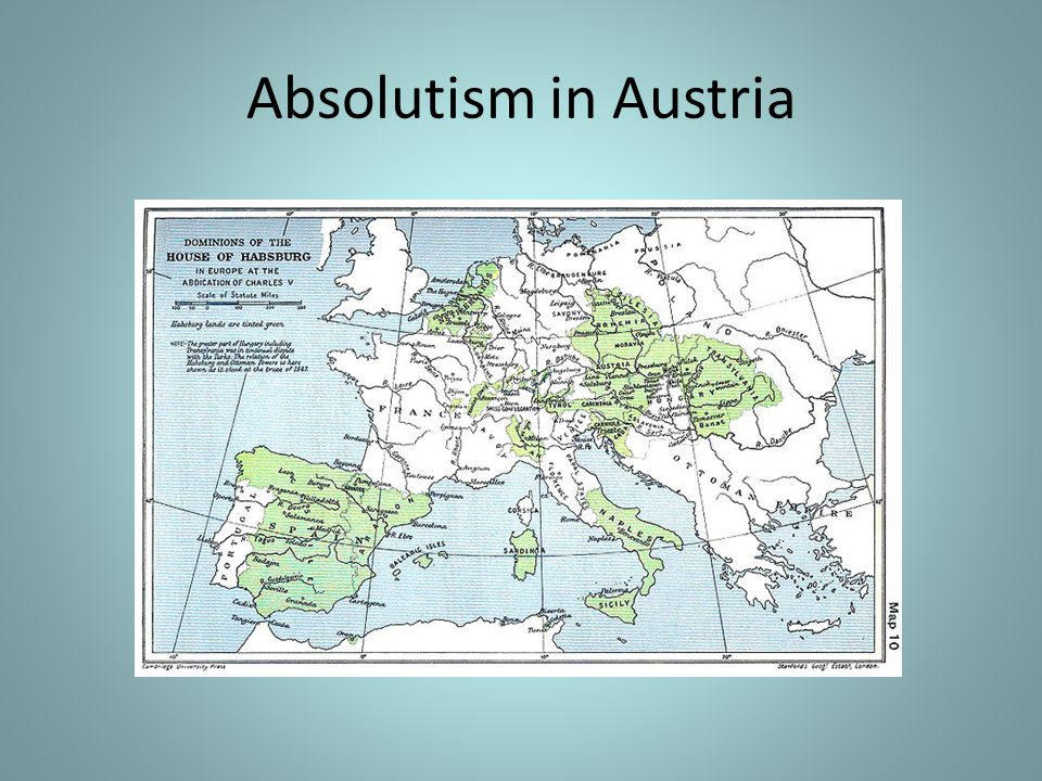 Absolutism in Austria