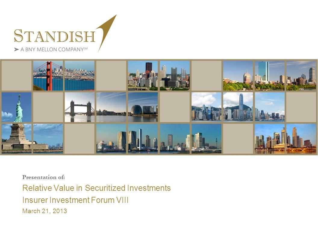Insurer Investment Forum VIII Agenda