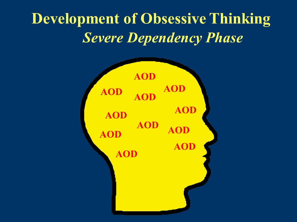 Development of Obsessive Thinking Severe Dependency Phase