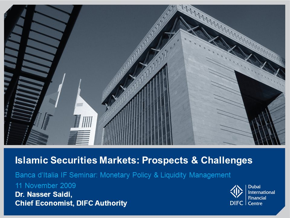 Islamic Securities Markets: Prospects & Challenges