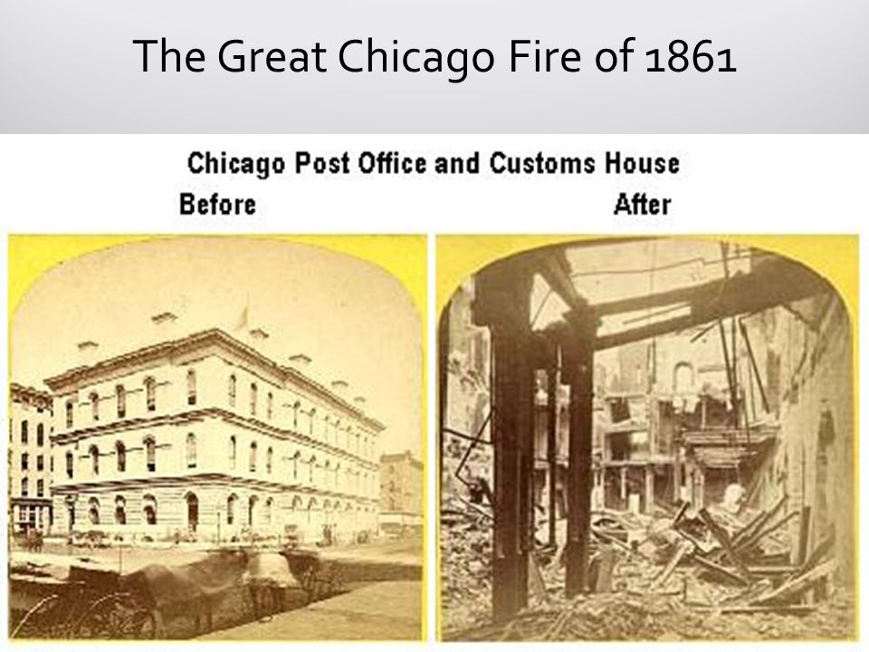 The Great Chicago Fire of 1861