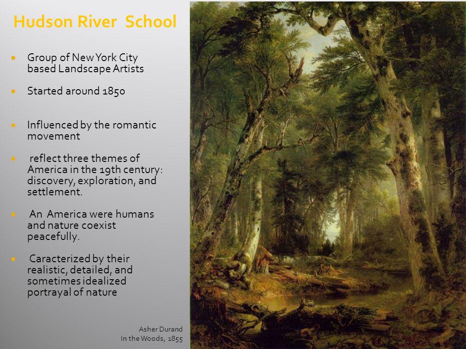 Hudson River School Group of New York City based Landscape Artists