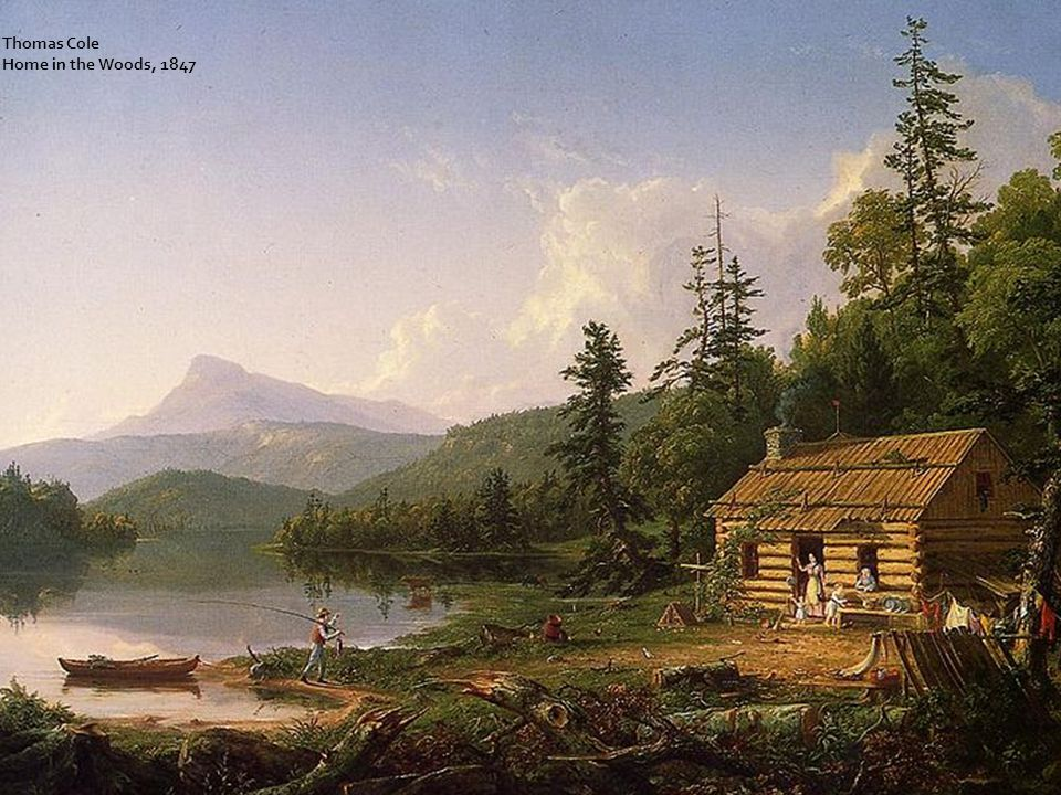 Thomas Cole Home in the Woods, 1847