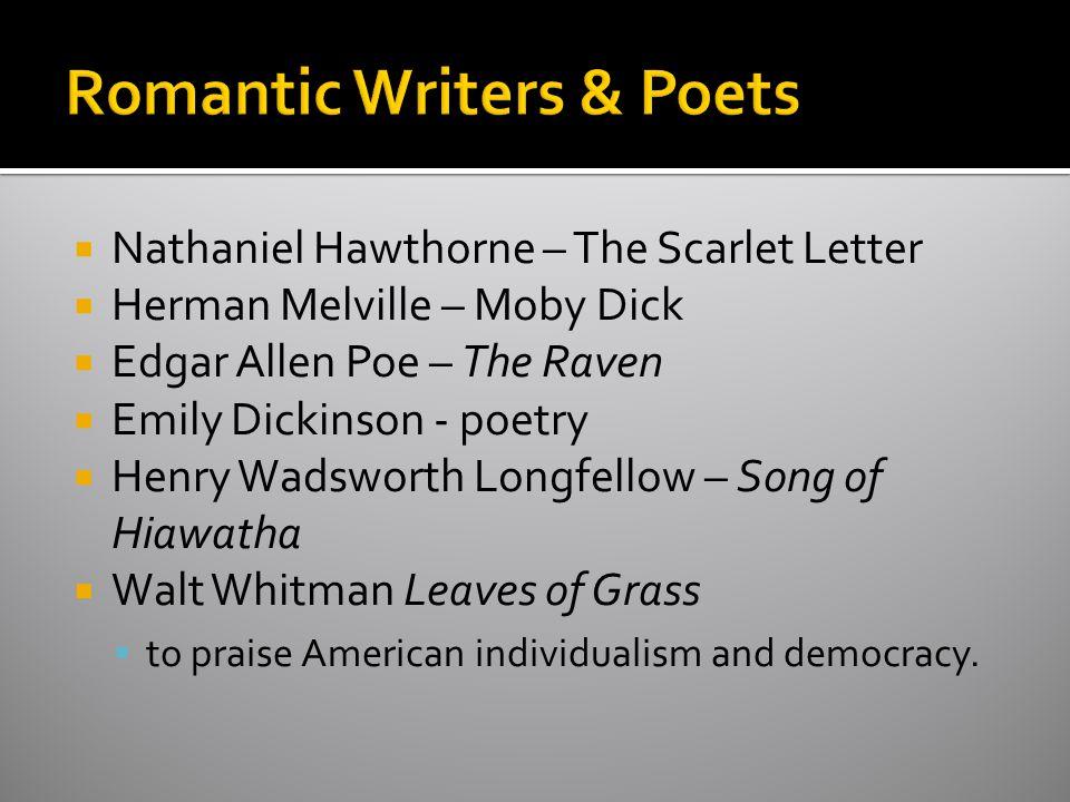 Romantic Writers & Poets