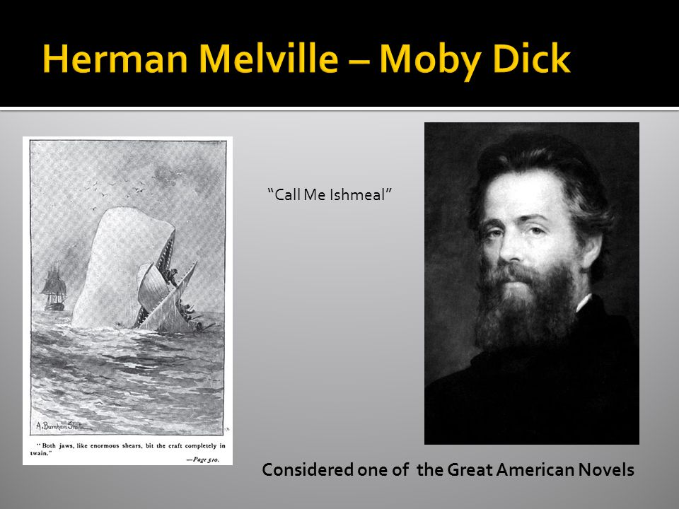 Herman Melville – Moby Dick