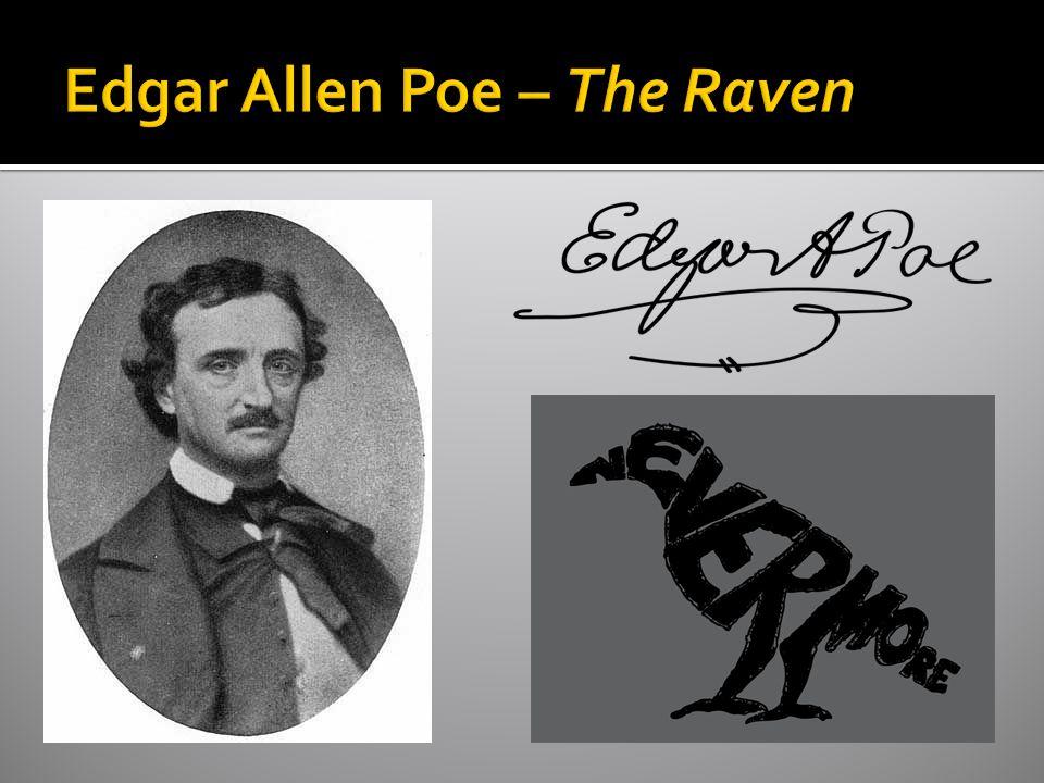 Edgar Allen Poe – The Raven