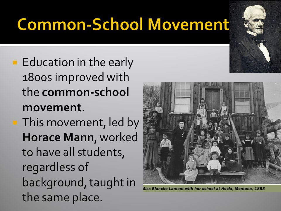 Common-School Movement