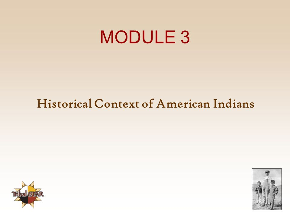 Historical Context of American Indians