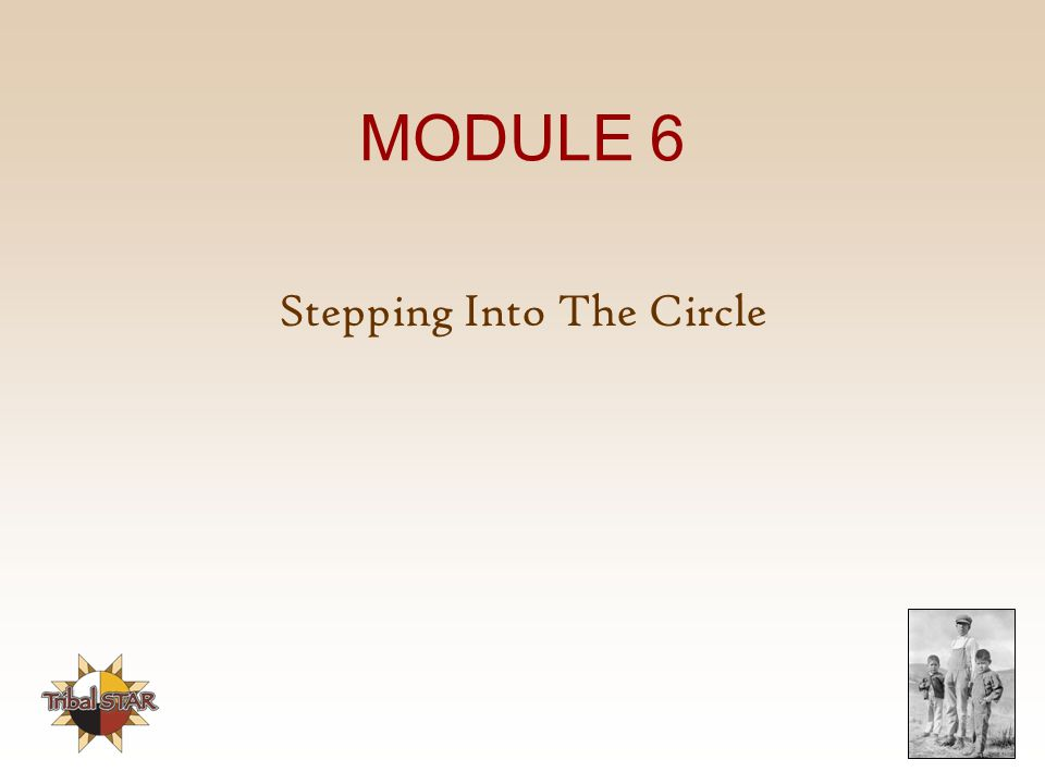 Stepping Into The Circle