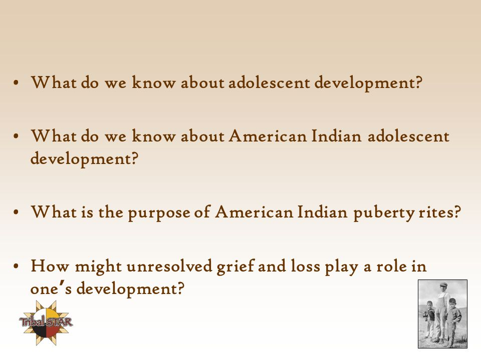 What do we know about adolescent development