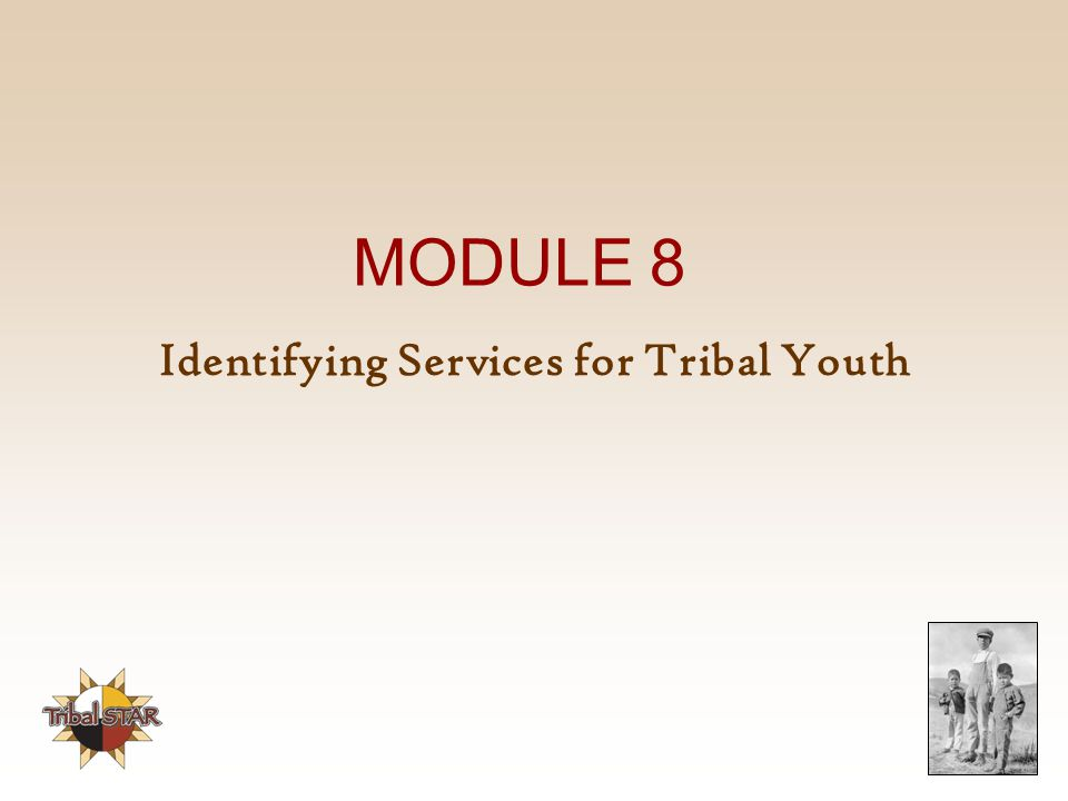 Identifying Services for Tribal Youth