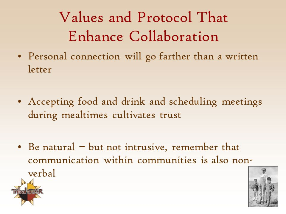 Values and Protocol That Enhance Collaboration