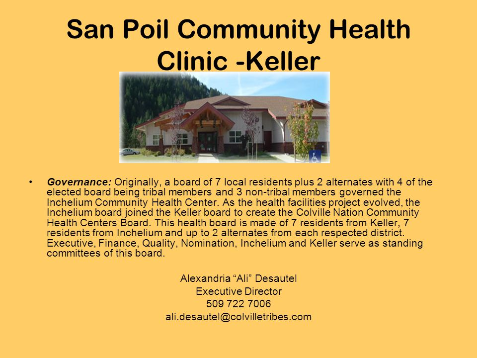 San Poil Community Health Clinic -Keller