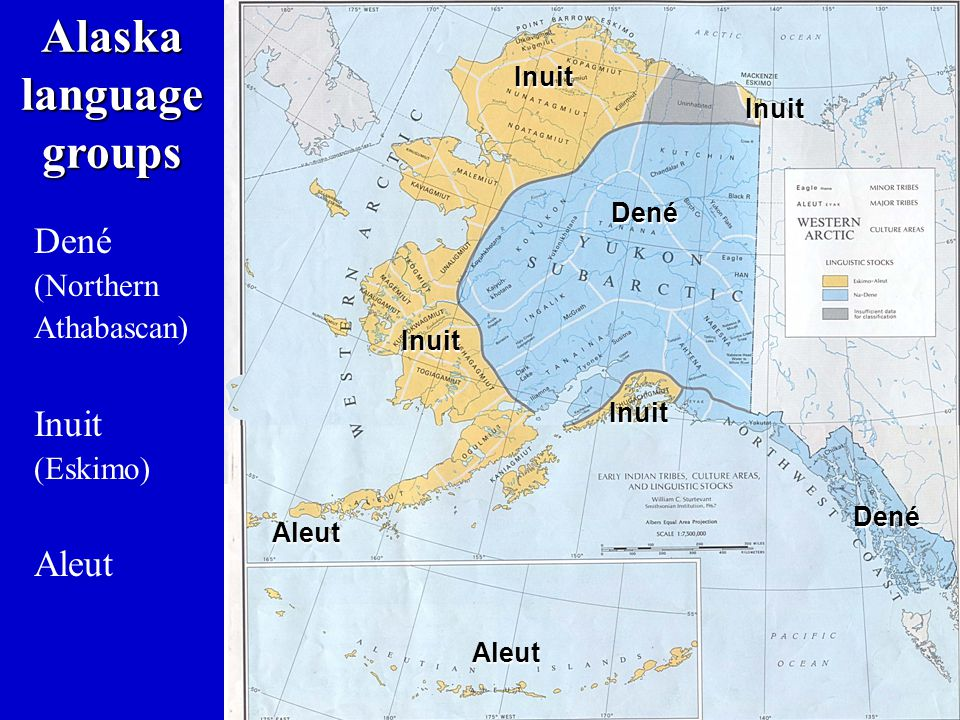 Alaska language groups