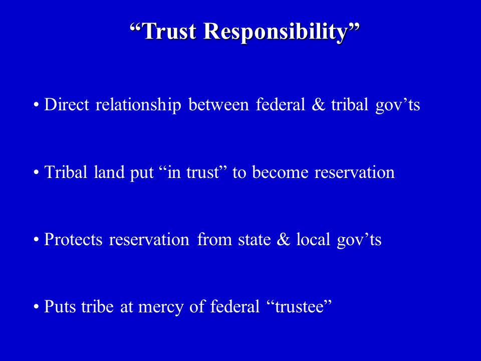Trust Responsibility