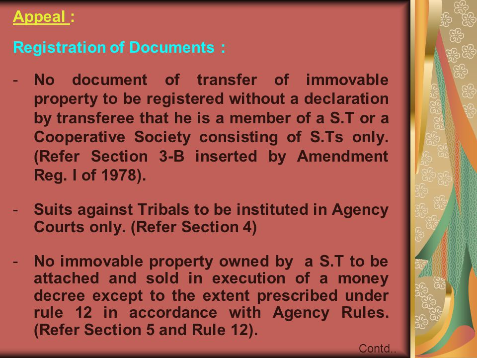 Registration of Documents :