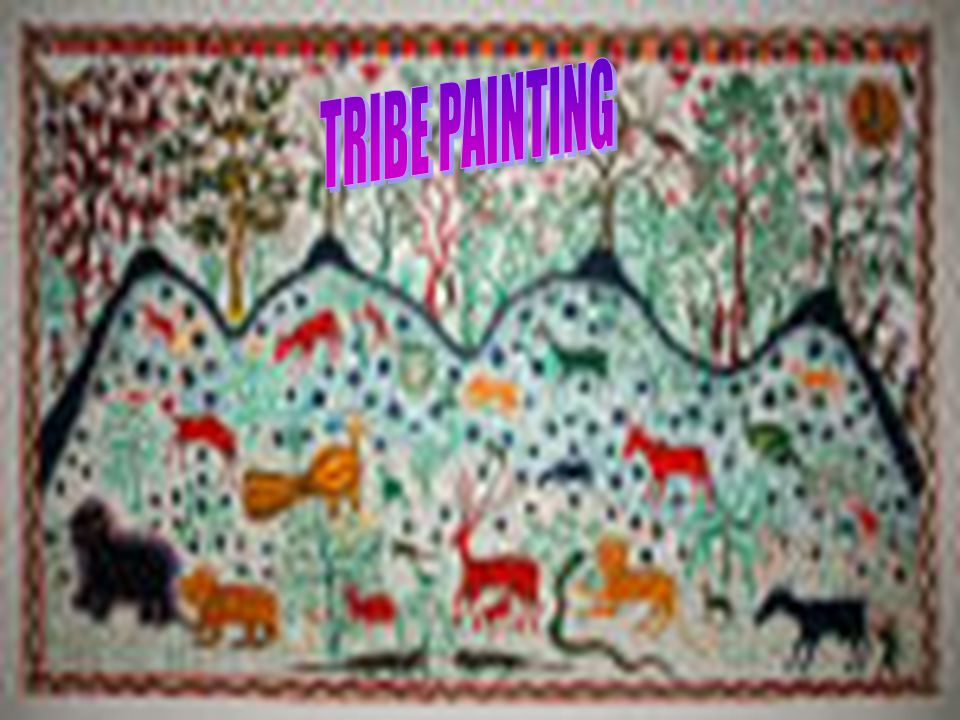 TRIBE PAINTING