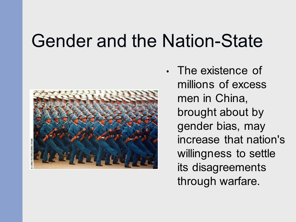 Gender and the Nation-State