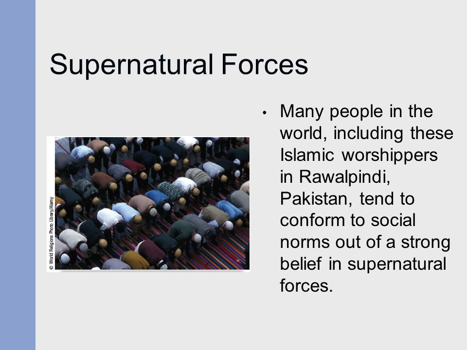 Supernatural Forces