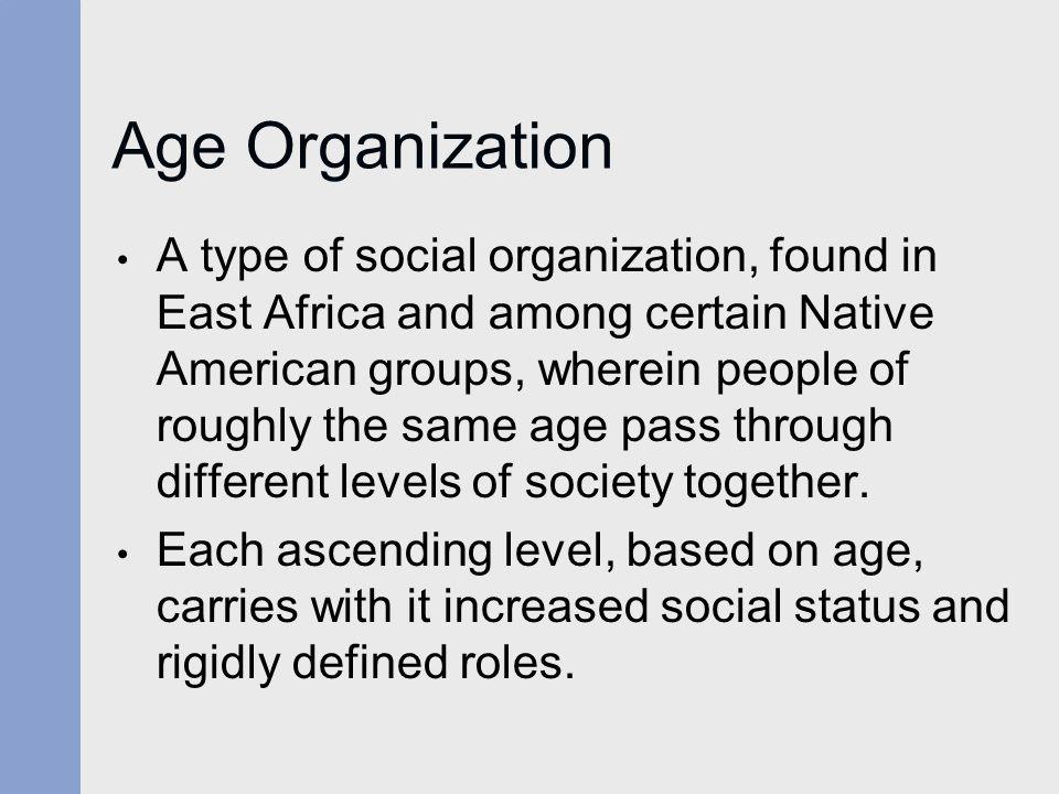 Age Organization