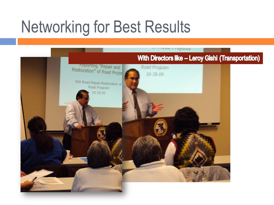 Networking for Best Results