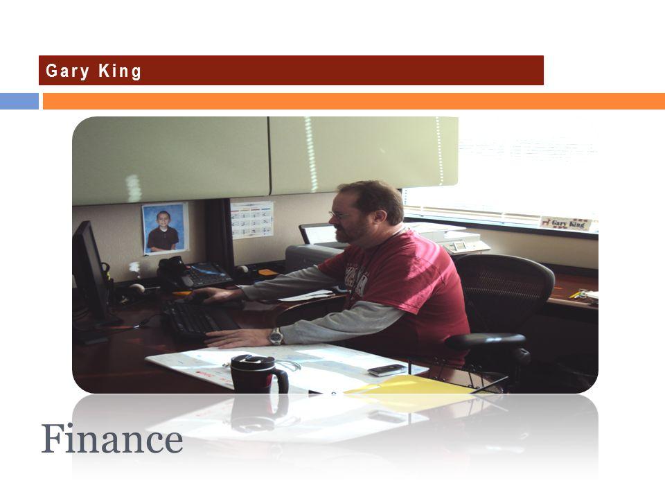 Gary King Finance