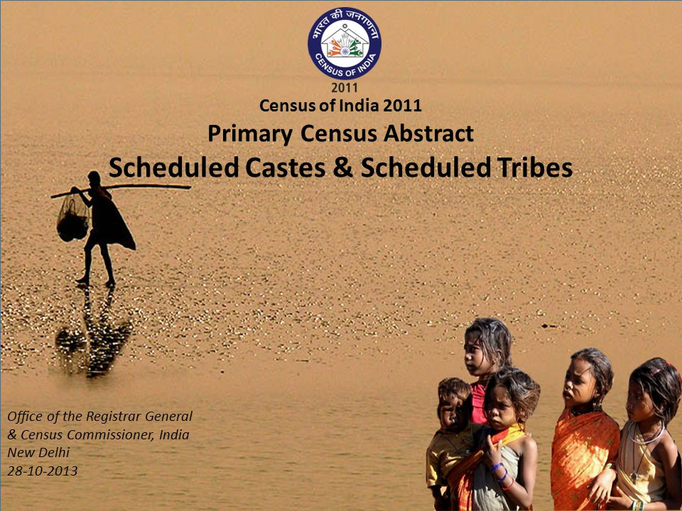 Primary Census Abstract Scheduled Castes & Scheduled Tribes