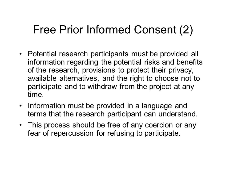 Free Prior Informed Consent (2)