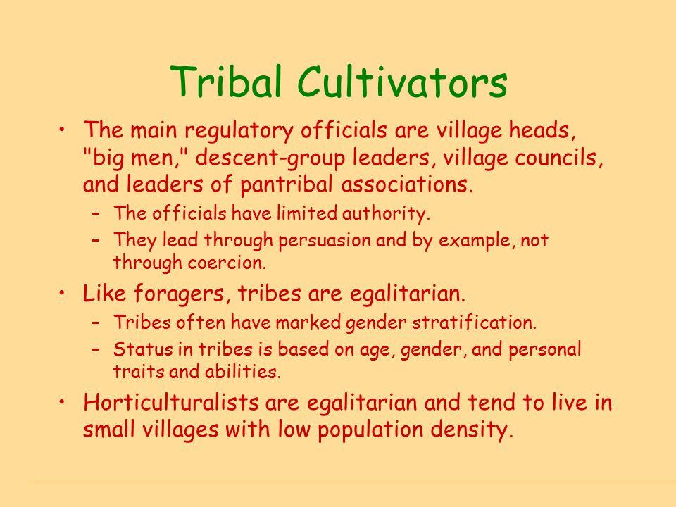 Tribal Cultivators