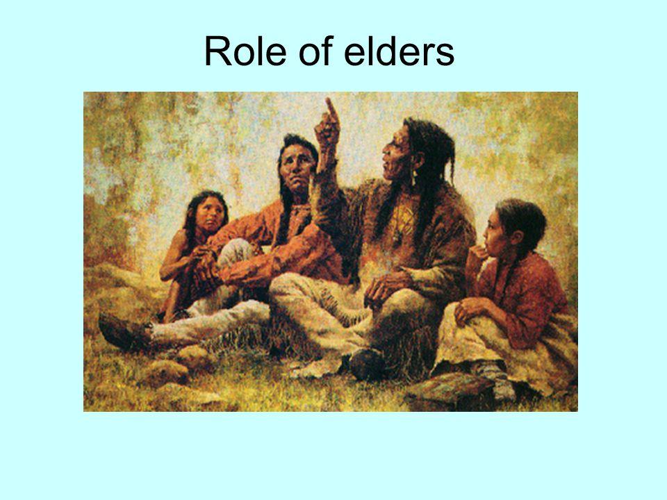 Role of elders