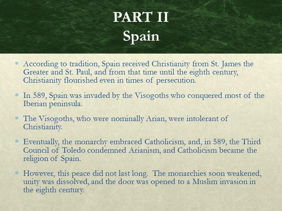 PART II Spain