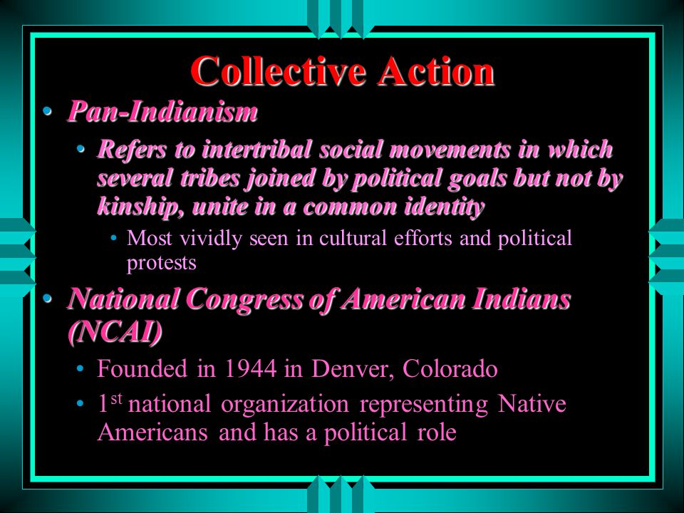 Collective Action Pan-Indianism