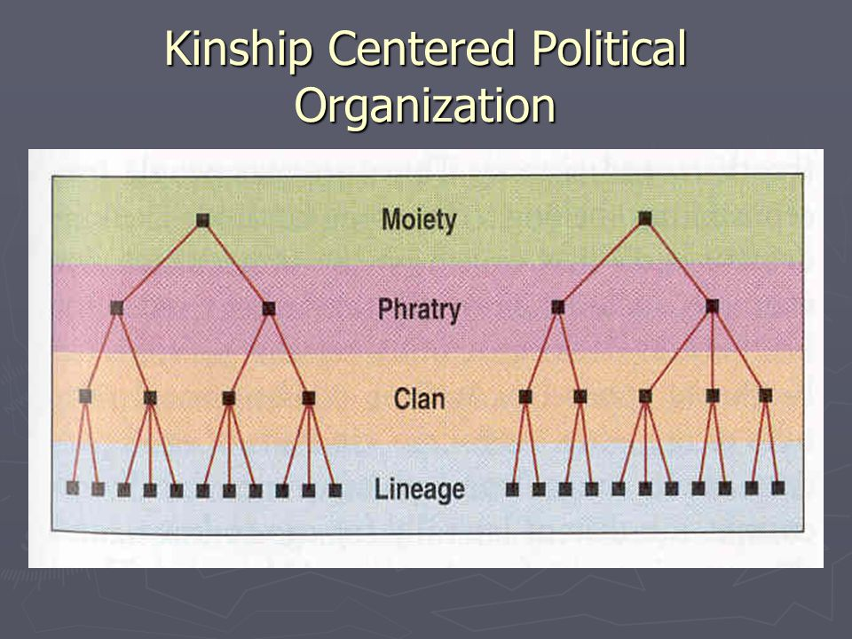 Kinship Centered Political Organization