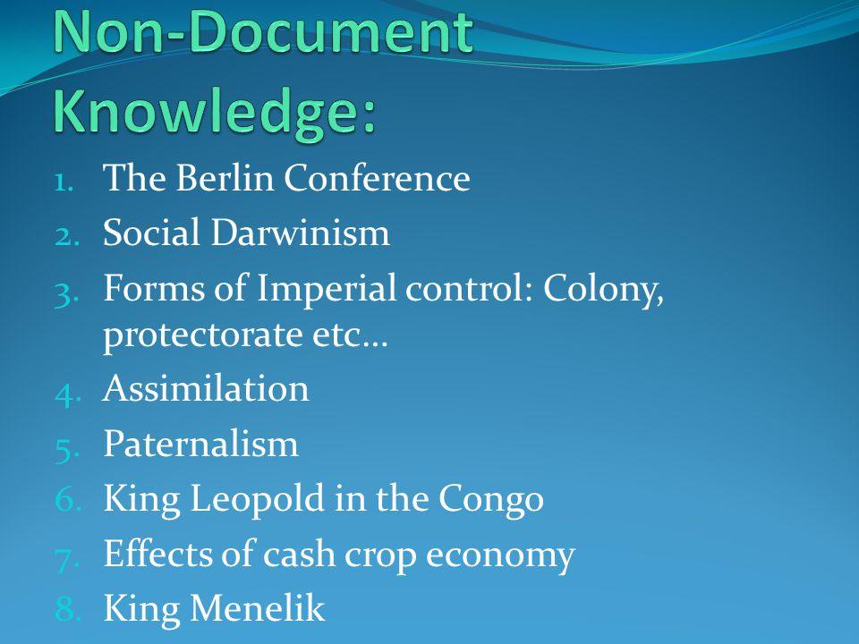 Non-Document Knowledge: