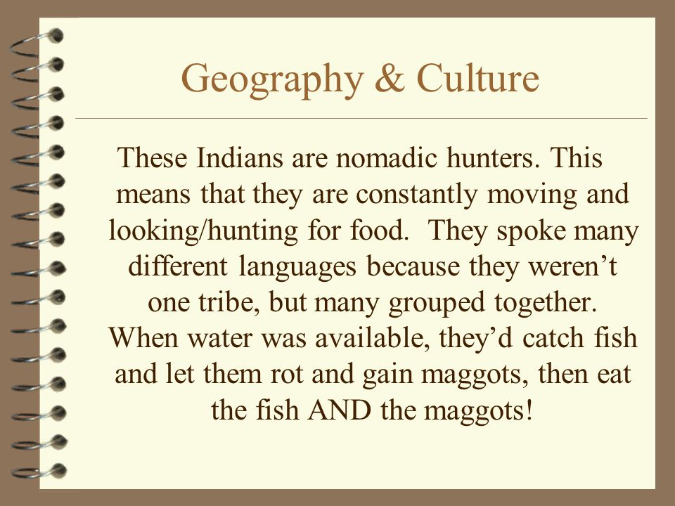 Geography & Culture