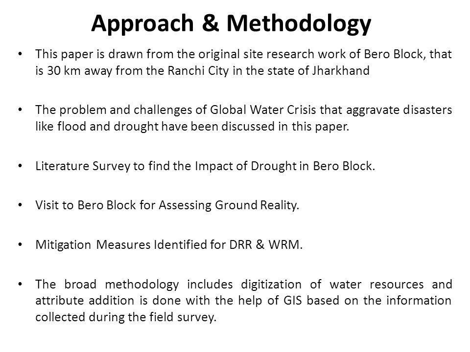 Approach & Methodology