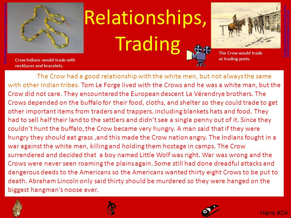 Relationships, Trading
