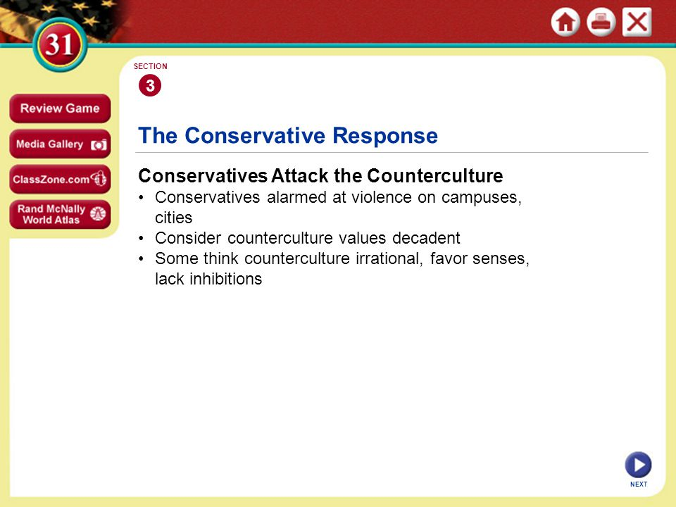 The Conservative Response