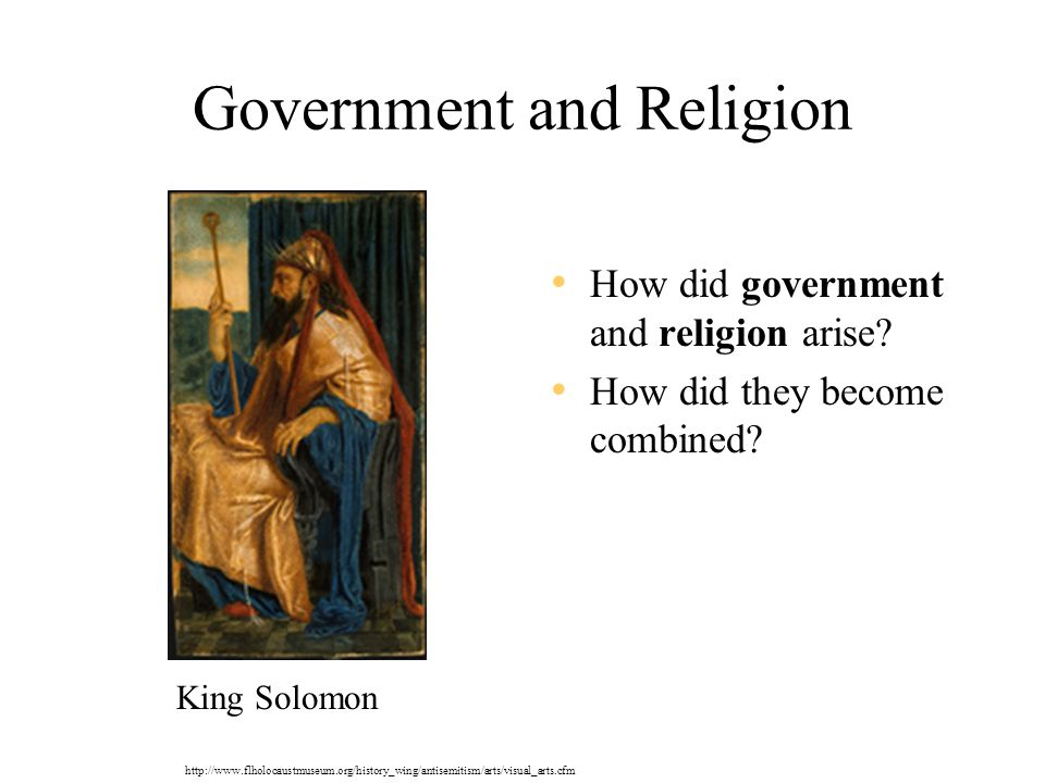 Government and Religion