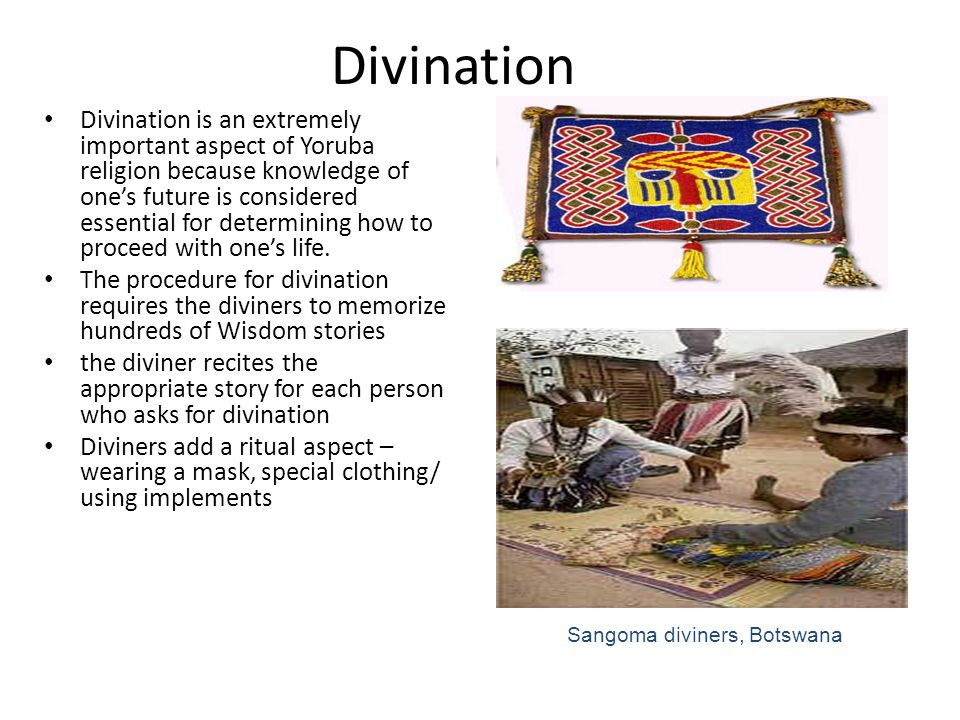 Sangoma diviners, Botswana