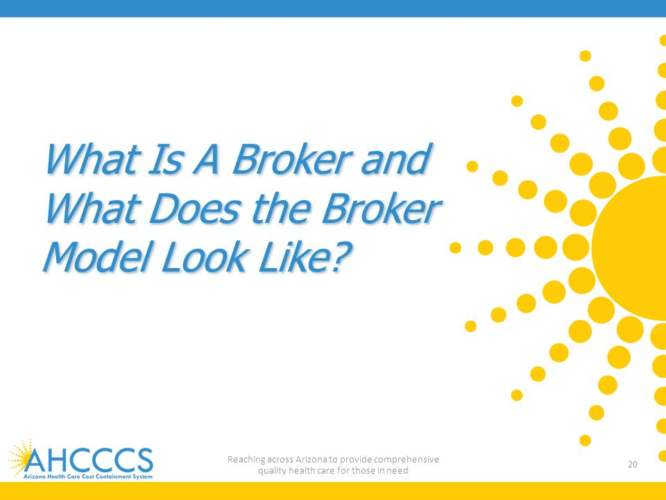 What Is A Broker and What Does the Broker Model Look Like