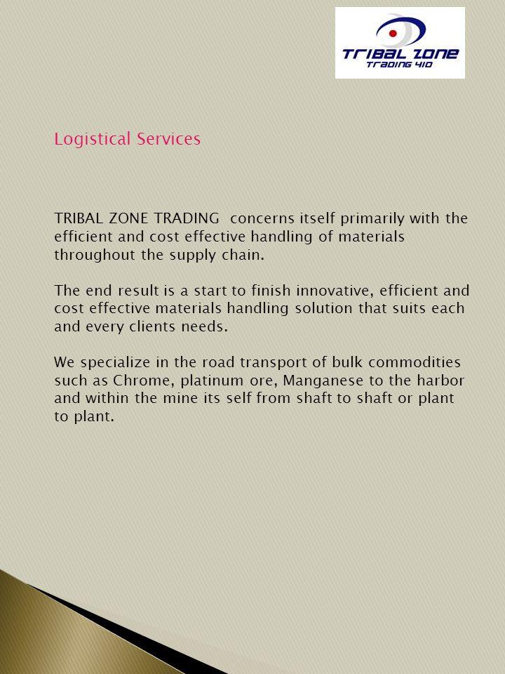 Logistical Services