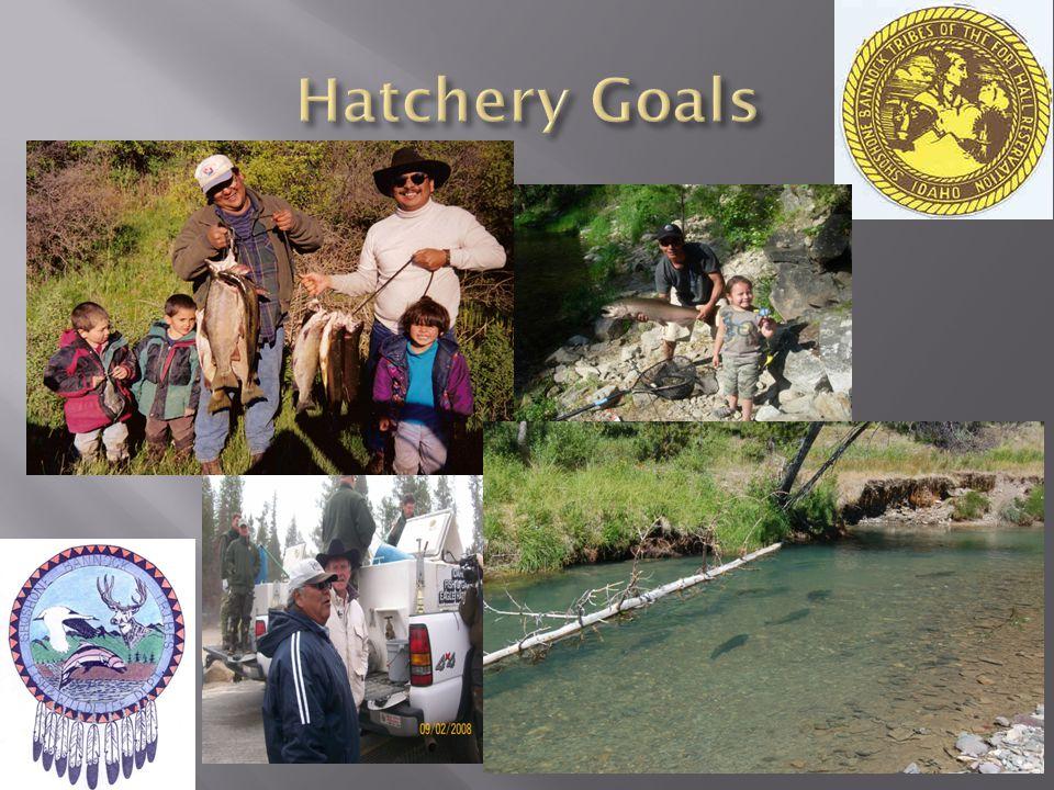 Hatchery Goals