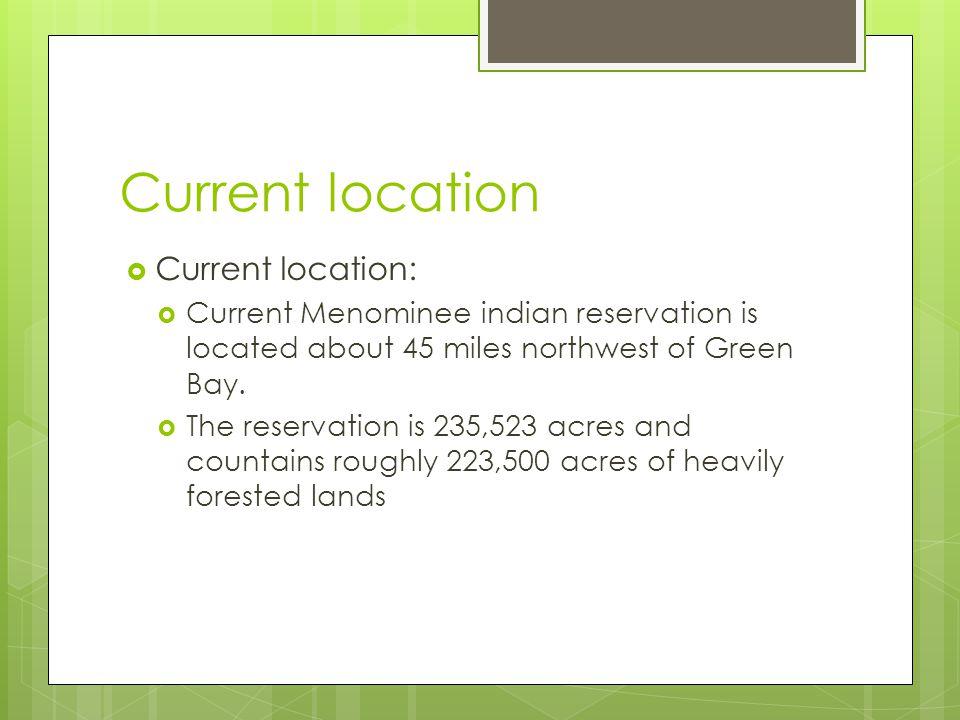 Current location Current location: